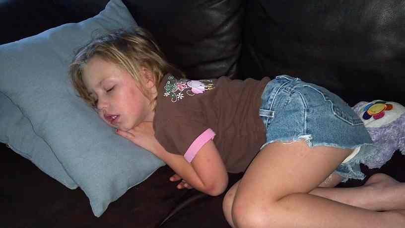 Brenna Sleeping Again...