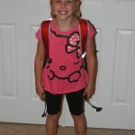 First Day of School 8-6-2014